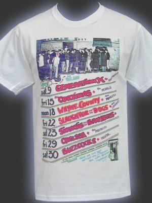 Roxy Club White Mens T-Shirt