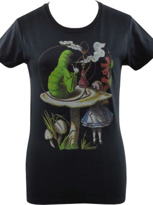 Alice's Adventures Caterpillar Ladies T-Shirt