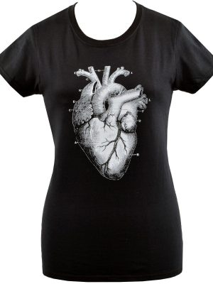 Anatomical Heart Ladies T-Shirt