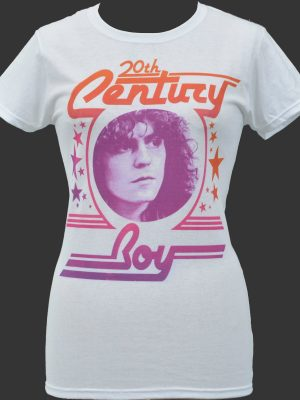 20th Century Boy Ladies White T-Shirt