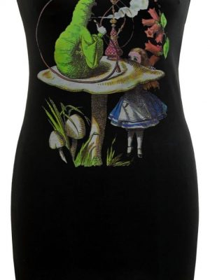 Alice's Adventures In Wonderland Caterpillar Black Dress
