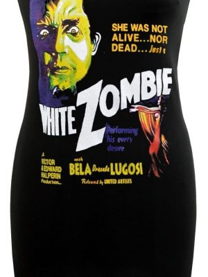 Bela Lugosi White Zombie Black Dress