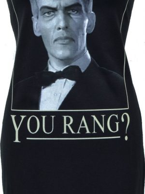 Addams Family 'You Rang!' Black Dress