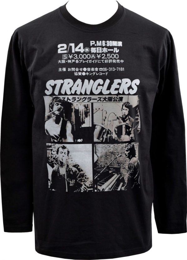 The Stranglers Japan Mens Long Sleeve Top