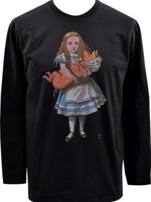 Alice In Wonderland Mens Long Sleeve Top
