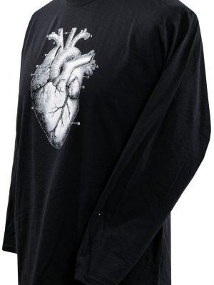 Anatomical Human Heart Mens Long Sleeve Top
