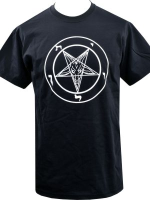 Baphomet Pentagram Mens T-Shirt