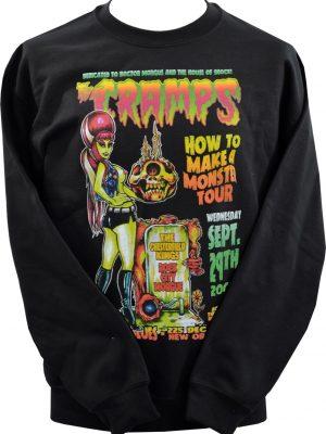 The Cramps Zombie Monster Unisex Sweatshirt