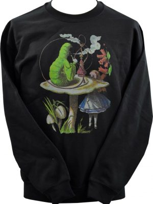 Alice In Wonderland Caterpillar Unisex Sweatshirt