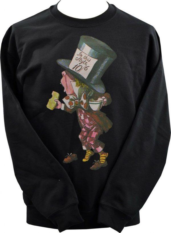 Alice In Wonderland Mad Hatter Unisex Sweatshirt