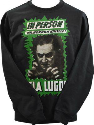 Bela Lugosi Mr Horror Unisex Sweatshirt