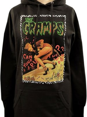 The Cramps Can Your Pussy Do The Dog Ladies Long Hoodie