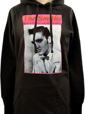 The Smiths Shoplifters Of The World Ladies Long Hoodie
