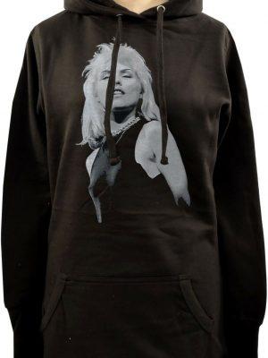 Debbie Harry As Blondie Ladies Long Hoodie