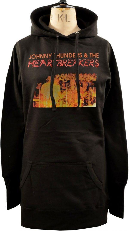 Johnny Thunders And The Heartbreakers Ladies Long Hoodie