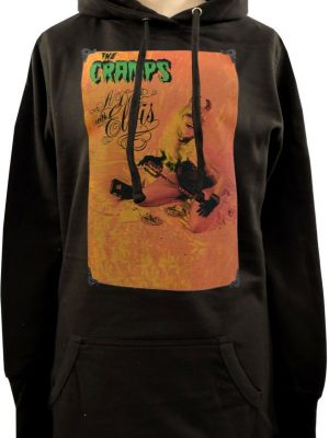 The Cramps A Date With Elvis Ladies Long Hoodie