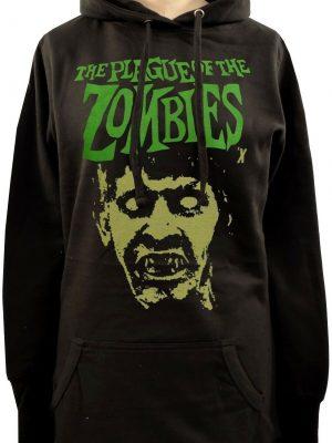 Plague Of The Zombies Ladies Long Hoodie