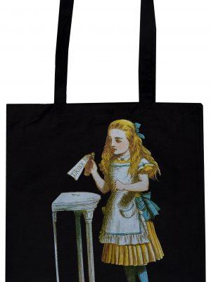 Alice in Wonderland Drink Me Tote Bag