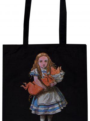 Alice in Wonderland Pig Baby Tote Bag