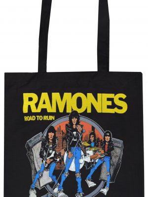 Ramones Road to Ruin Tote Bag