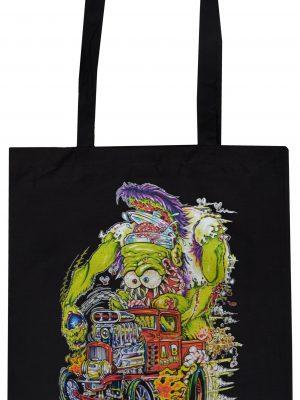 Abnormal Cotton Tote Bag