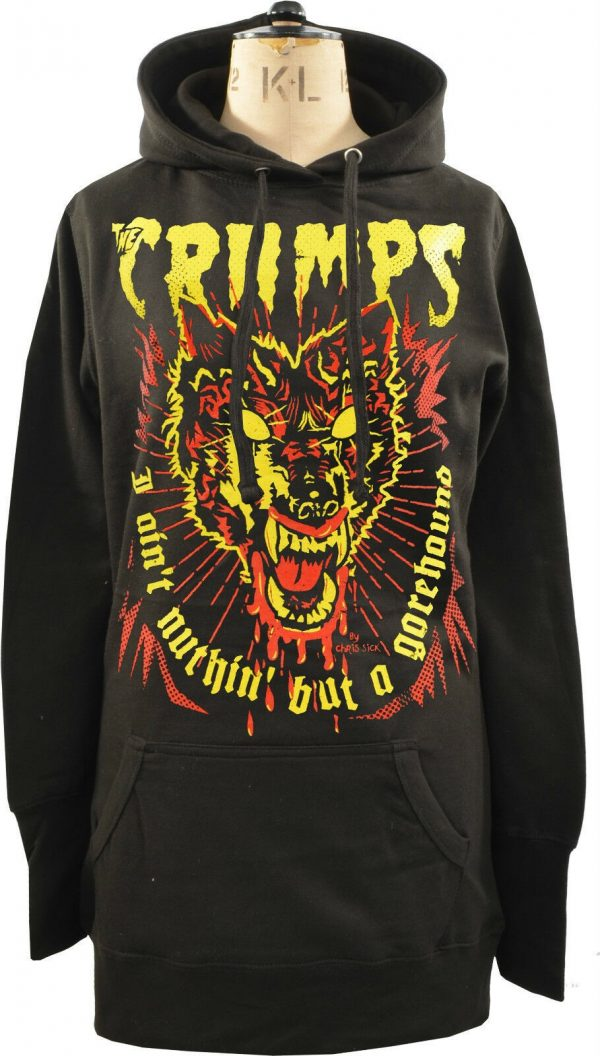 The Cramps Gorehound Ladies Long Hoodie