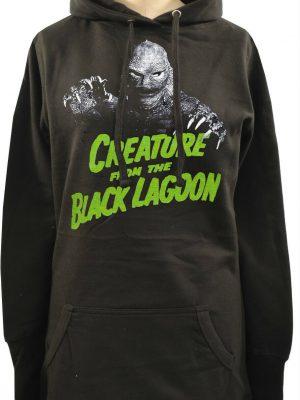 Creature From The Black Lagoon Ladies Long Hoodie
