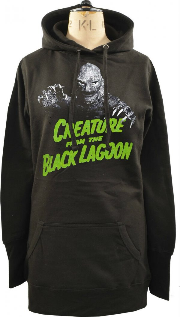 Creature From The Black Lagoon Ladies Long Hoodie