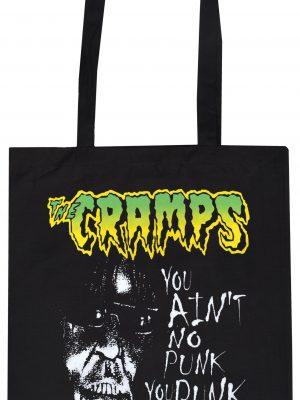 The Cramps 'You ain't no punk!' Tote Bag