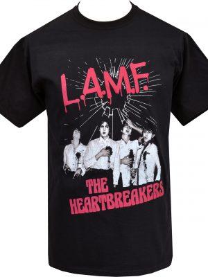 Johnny Thunders L.A.M.F. Mens T-Shirt