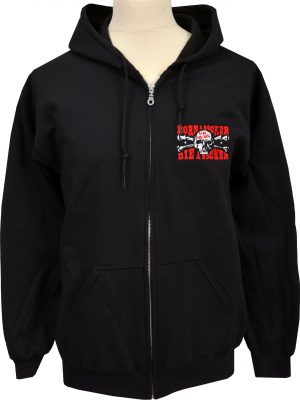 UK Subs Embroidered Zipper Hoodie