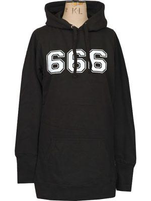 womens satanic hoodie dress