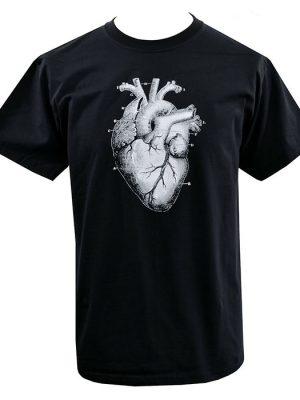 Mens Anatomical Heart T-Shirt