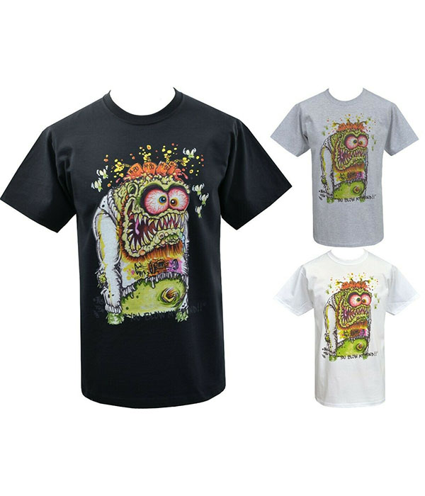 Mens Punk Art T-Shirt