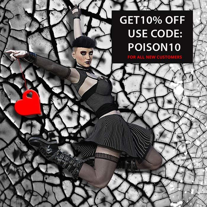 Poison clothing promotion code