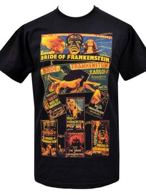 Mens Vintage Frankenstein T-Shirt