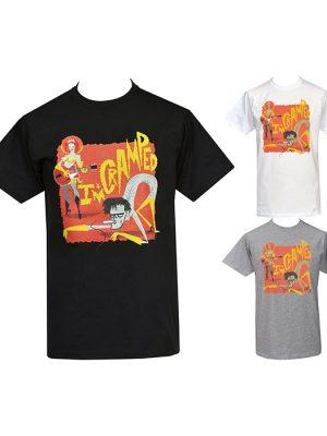 mens psychobilly punk t-shirt