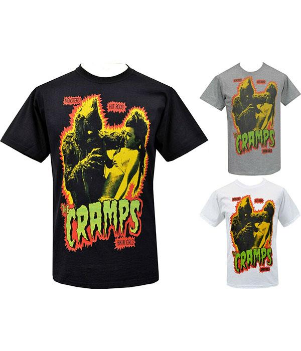 Mens Cramps Monster T-Shirt