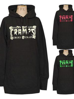 womens garage punk hoodie