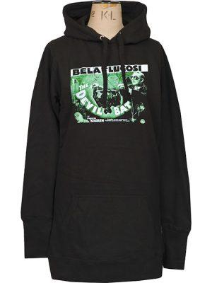 womens Bela Lugosi hoodie dress