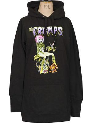 womens psychobilly hoodie dress