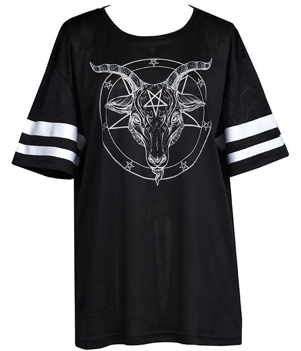 womens baphomet t-shirt