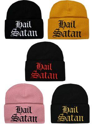 SATANIC BEANIE HAT