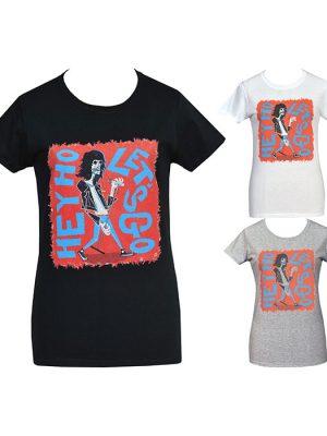 womens lowbrow punk t-shirt