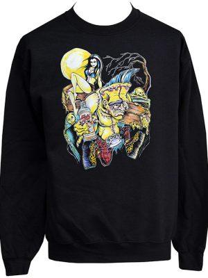 Psychobilly Monster sweatshirt