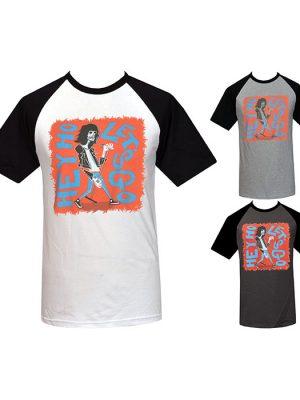 mens lowbrow punk raglan t-shirt