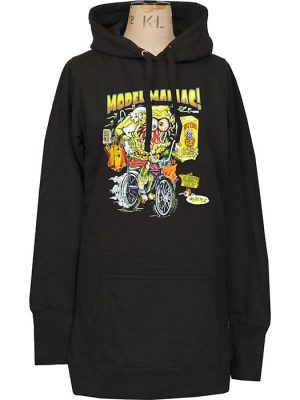 womens retro fink hoodie dress