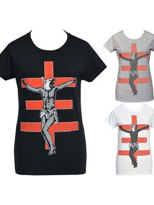 womens industrial punk t-shirt