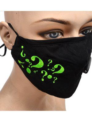riddler face mask