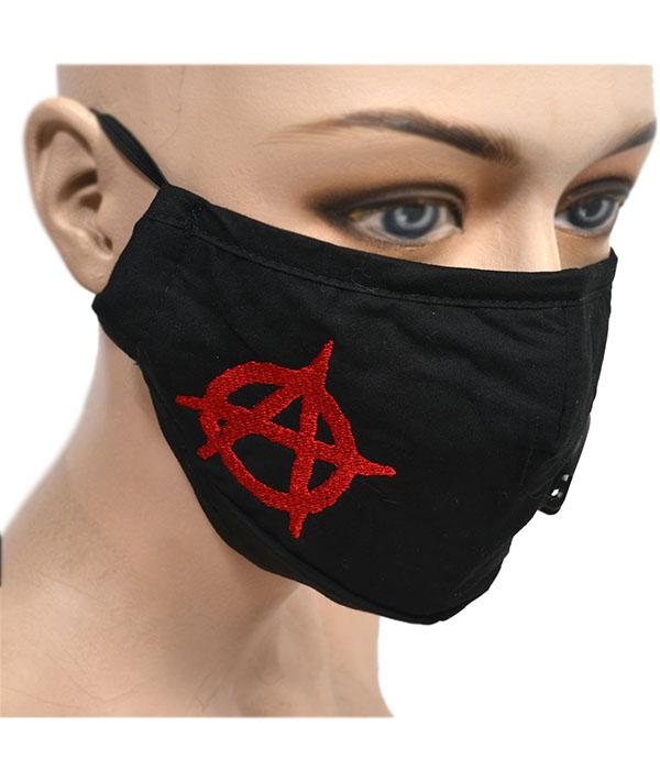 Anarchy Punk Face Mask